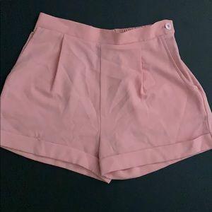 American Apparel Pink Shorts